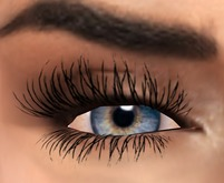 Koketka - Mila eyes (blue) + Lashes