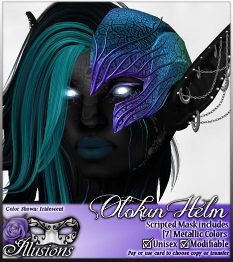 *~*Illusions*~* Olokun Helm