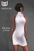 BeloD - Elle dress SILVER - Group GIFT