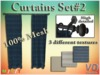 VD Creations Curtains Set #2