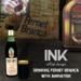 Botella y Vaso de Fernet