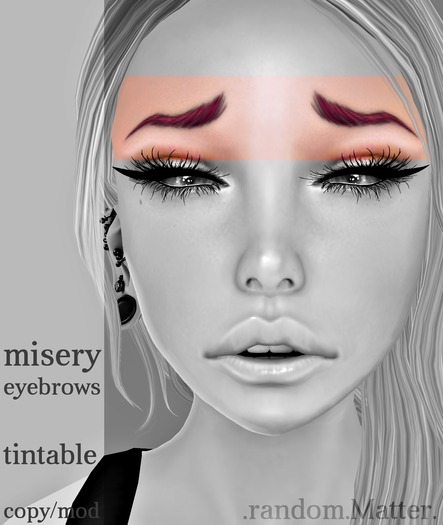 .r.M. Misery Eyebrows