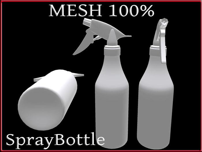 T-3D Creations [ SprayBottle ] MESH - Full Perm