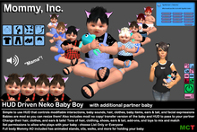 *Mommy Inc* HUD-Driven Highly Detailed Neko Baby Boy v2.4.2