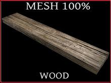 T-3D Creations [ WOOD PARTS 001 ] Regular MESH - Full Perm