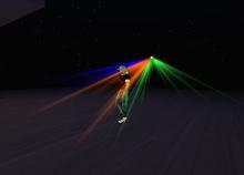 PIXLIGHTS ™ simple light ( LIGHTING CLUB LIGHTS LASER SMOKE LASERLIGHT  beam club spotlights lights l