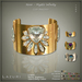 [< Lazuri >] Noor Mystic Infinity Cuff Bracelets