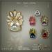 [< Lazuri >] Noor Mystic Infinity Rings