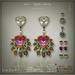 [< Lazuri >] Noor Mystic Infinity Earrings 1