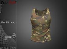 PZ - Male Shirt army [MESH]
