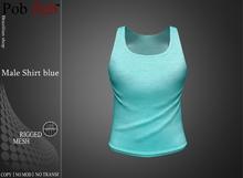 PZ - Male Shirt blue [MESH]