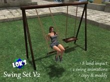 Lok's Swing Set for 2 - watch the video!