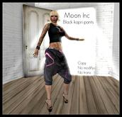 *:*:* Moon Inc *:*:*  - Black kapri pants