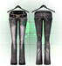 :{F.A.D.}: Bailey Flare Jeans Grey