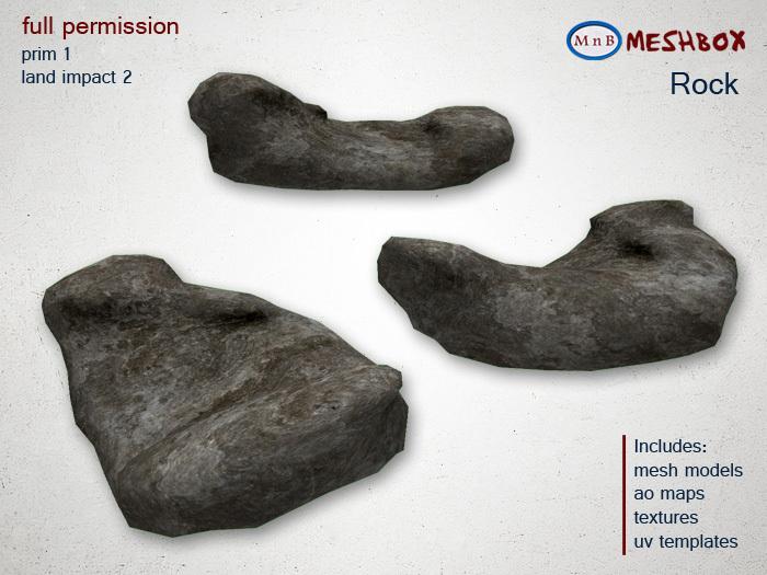 *M n B* Rock 3 (meshbox)