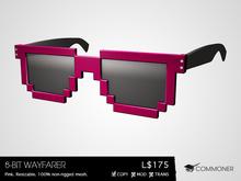 [Commoner] 8-Bit Wayfarer / Pink