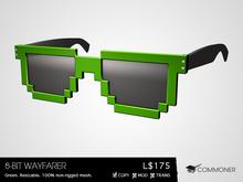 [Commoner] 8-Bit Wayfarer / Green