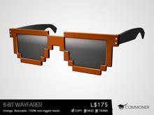 [Commoner] 8-Bit Wayfarer / Orange