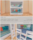 fri.home - kids bunk bed (white)