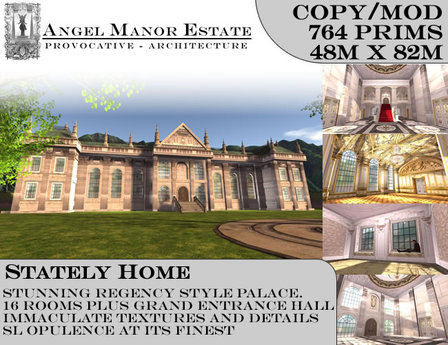 Stately Home Pre fab Period House