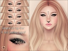 {Tilly} - Winged Cat Eyeliners