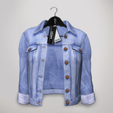 Emery - Denim Jacket Hollywood Mid Blue