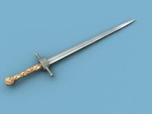 [HOT] Medieval Sword (On the Back)