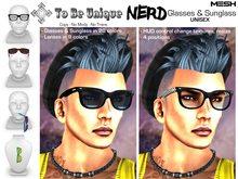 To Be Unique - NERD Glasses & Sunglass (BOX)