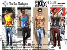 To Be Unique - ROY Outfit for man Mesh (BOX)