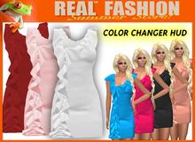"""REAL FASHION"" ""Rose"" dress - Mesh rigged"