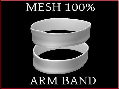 T-3D Creations [ Arm Band 002 ]  Regular MESH - Full Perm -