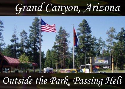 Atmo-AZ-Grand Canyon - Outside Park Passing Heli 1:10