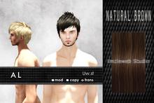 Uw.st   AL-Hair  Natural brown