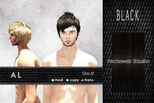 Uw.st   AL-Hair  Black