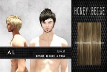 Uw.st   AL-Hair  Honey beige