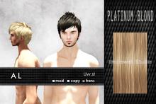 Uw.st   AL-Hair  Platinum blond