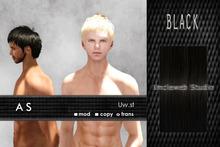 Uw.st   As-Hair  Black