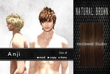 Uw.st   Anji-Hair  Natural brown