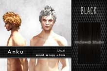 Uw.st   Anku-Hair  Black