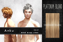 Uw.st   Anku-Hair  Platinum blond