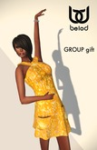 BeloD - EDEN dress ORO - Group GIFT