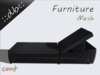 ::db furniture:: Garden Lounge Chair Rattan black