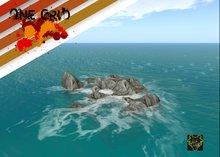 OUTSIDE SIM .:: ONE GRID ::. Simborder Rocks with waves