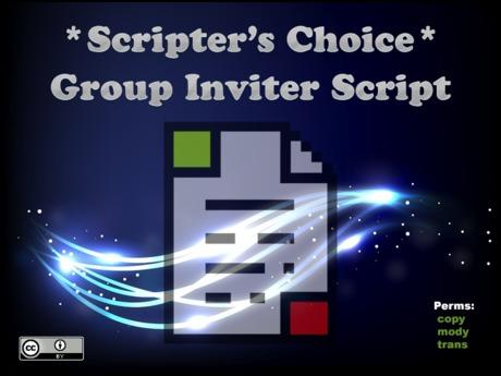 *SC* Group Inviter Script