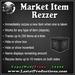 Market Item Rezzer