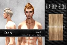 Uw.st   Dan-Hair  Platinum blond