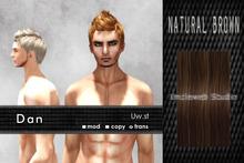 Uw.st   Dan-Hair  Natural brown