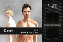 Uw.st   Dean-Hair  Black