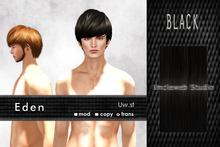 Uw.st   Eden-Hair  Black