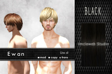 Uw.st   Ewan-Hair  Black